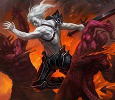 Low Fantasy Legends Collab by Scebiqu