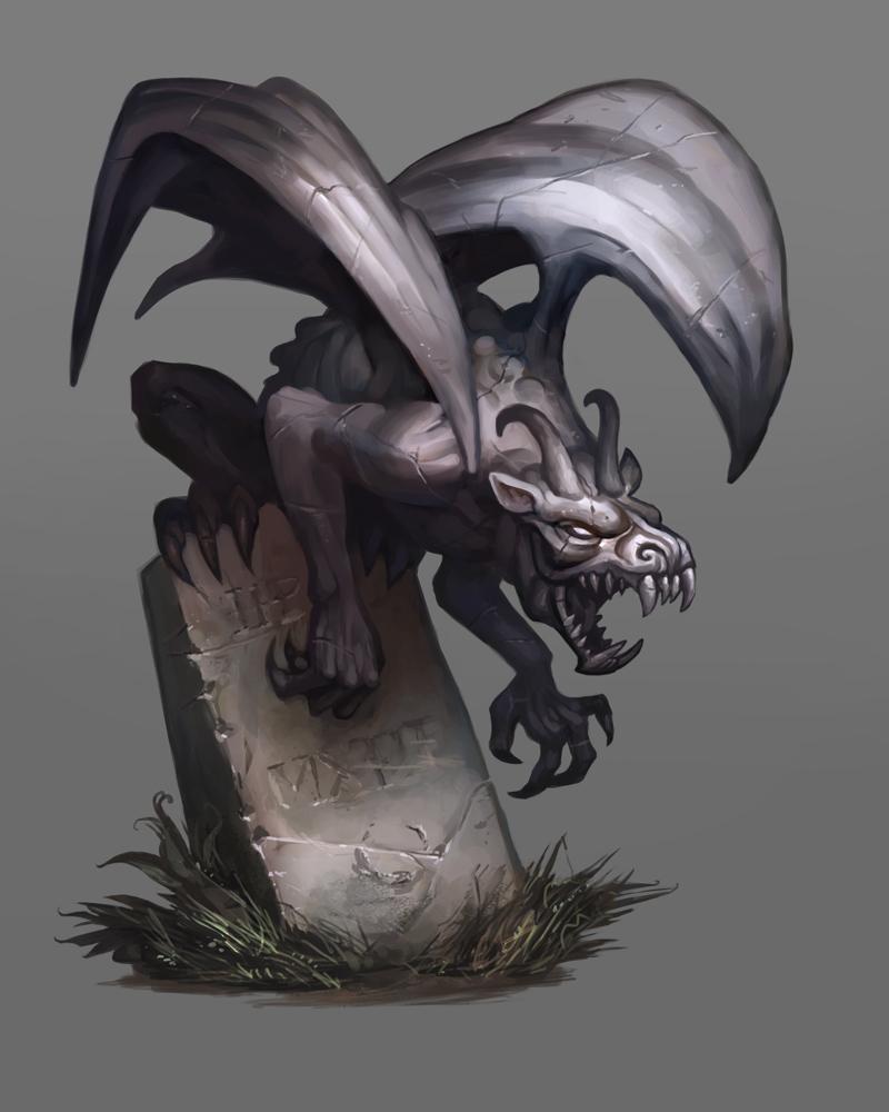 Gargoyle by Scebiqu