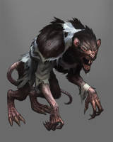 big bad rat by Scebiqu