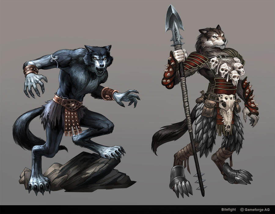 Bitefight Werewolves by Scebiqu