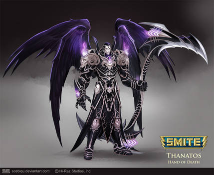 Thanatos by Scebiqu