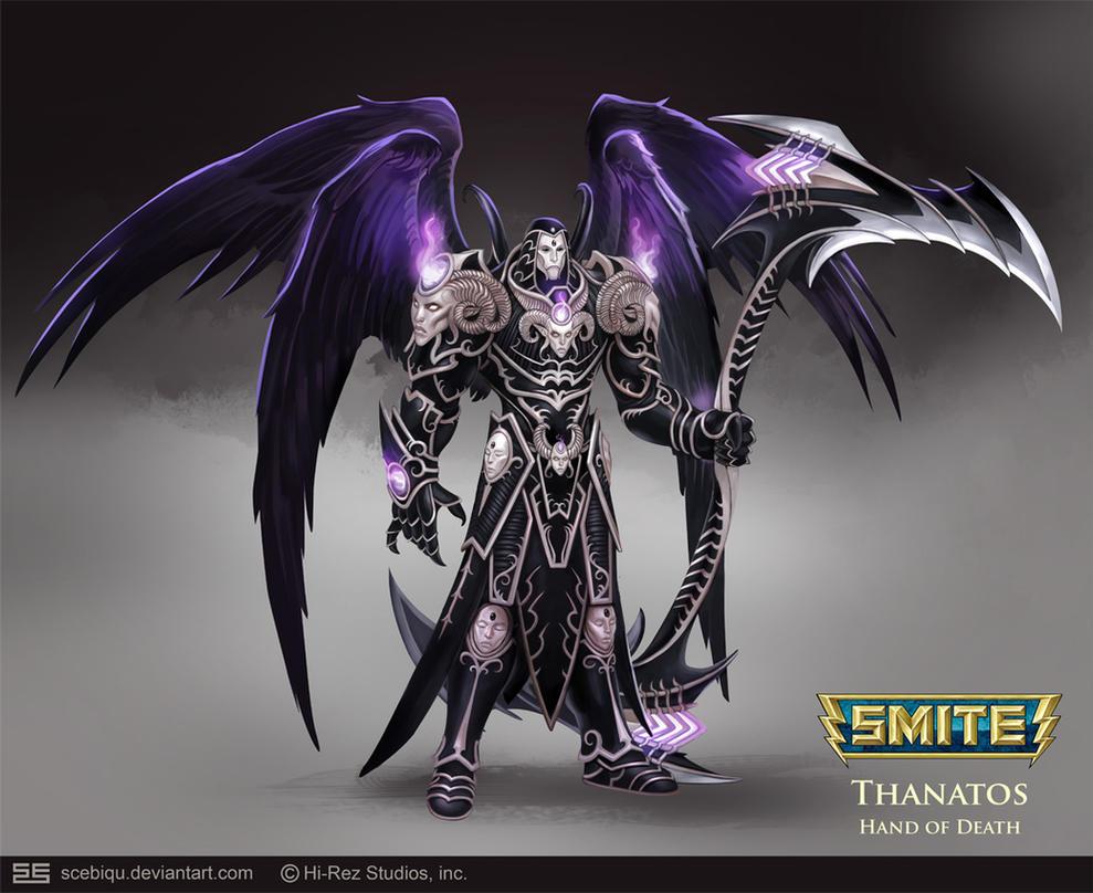 [SMITE] Thanatos - Hand of Death Minecraft Skin