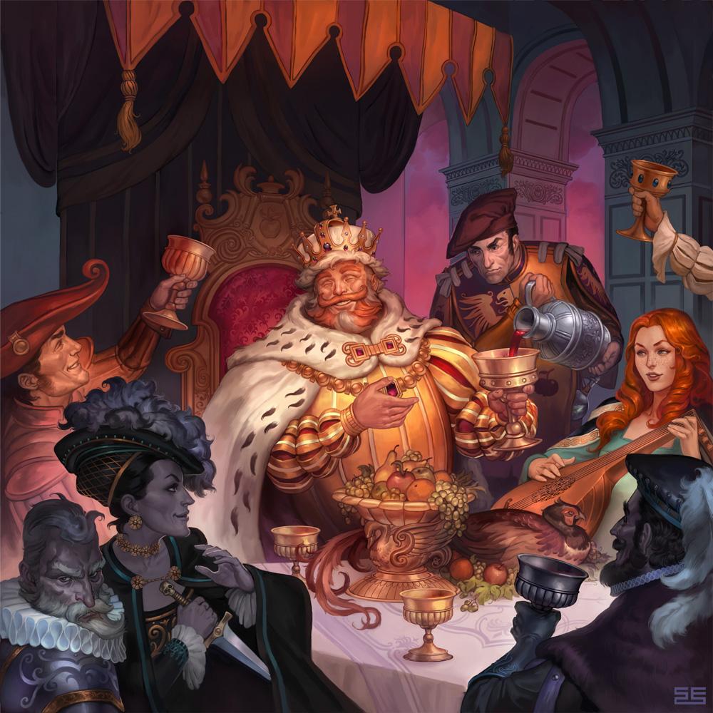 The Last Banquet by Scebiqu