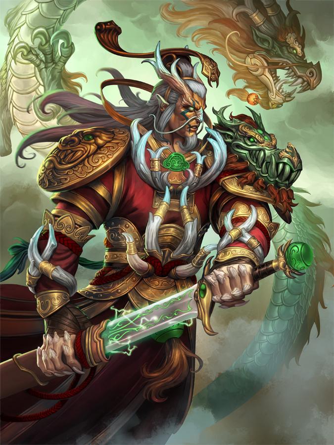 SMITE - God Reveal: Ao Kuang, Dragon King of the Eastern Seas ...