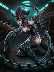 SMITE Serqet Dread Queen by Scebiqu