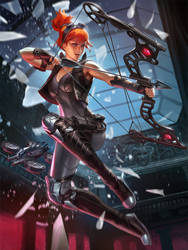 SMITE Recon Artemis by Scebiqu