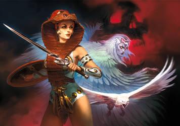 Teela - Warrior Goddess by Scebiqu