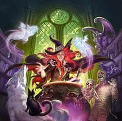 Scary Tales by Scebiqu