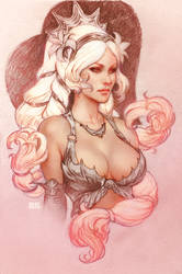 SMITE Aphrodite by Scebiqu
