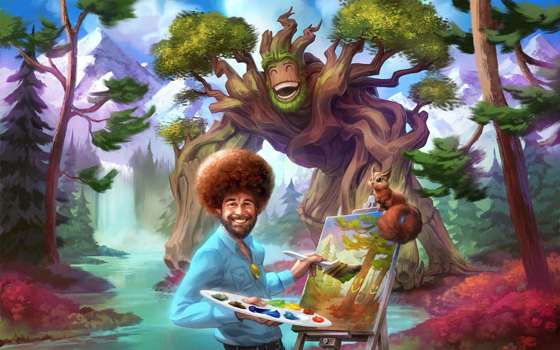 Bob Ross Painting Buy