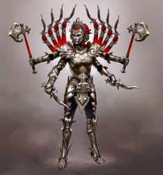 Smite Battle Armor Kali concept