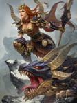 SMITE Skadi Dragonkin