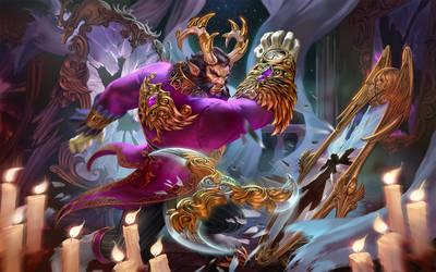 SMITE Cursed King Cernunnos