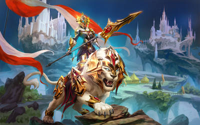 SMITE Royal Champion Awilix