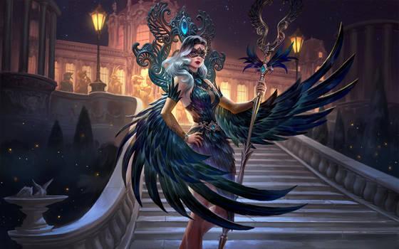 SMITE Midnight Raven Isis
