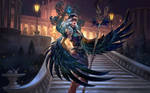 SMITE Midnight Raven Isis