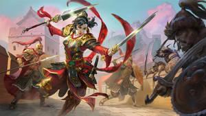SMITE Mulan