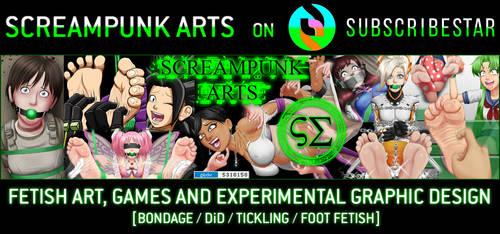 +Screampunk Arts on SubscribeStar+ by ScreampunkArts