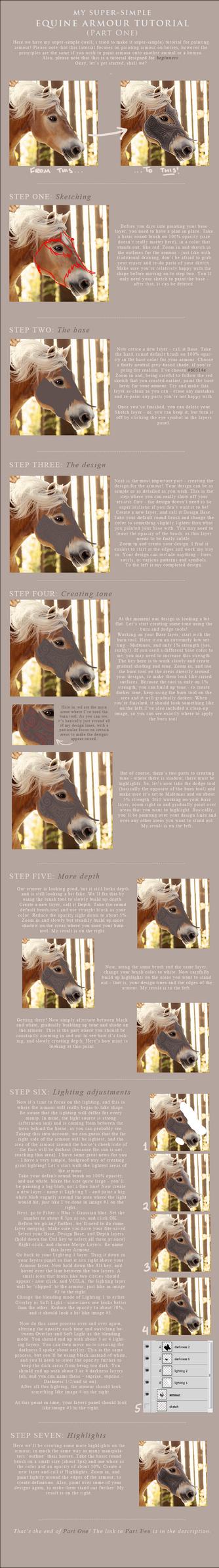 Equine Armour Tutorial - PART ONE