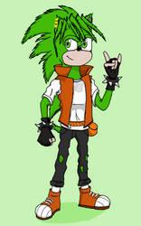 Sonic Underground AU - Manic the Hedgehog Redesign