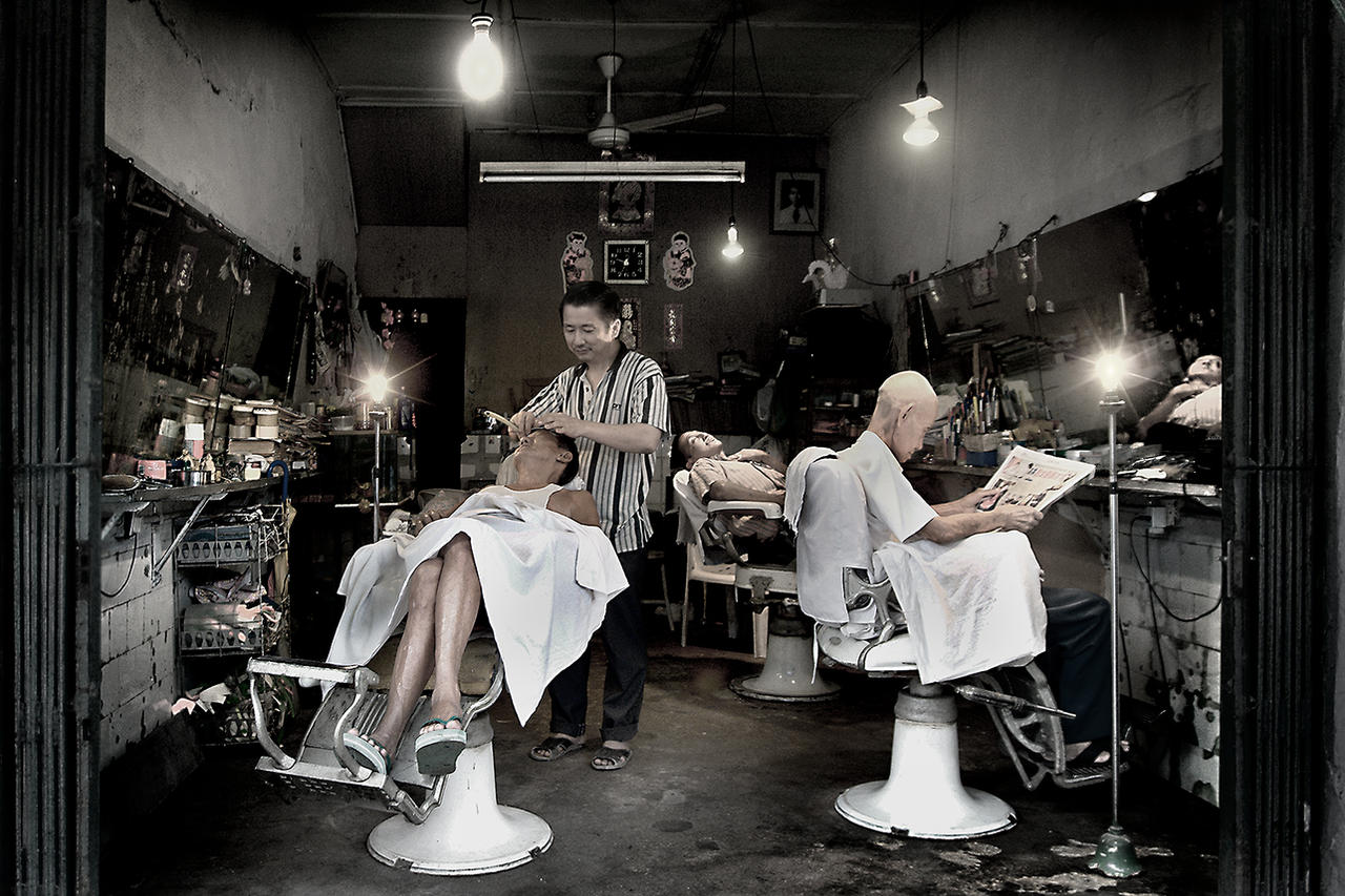 Ladies In Barber Shop Pics | Short Hairstyle 2013