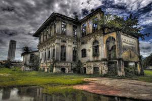 ...the haunted mansion by SAMLIM