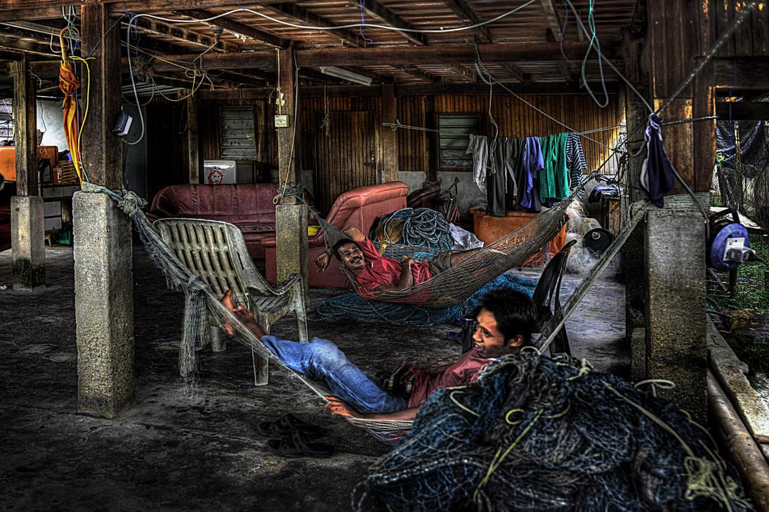 fisherman home by SAMLIM