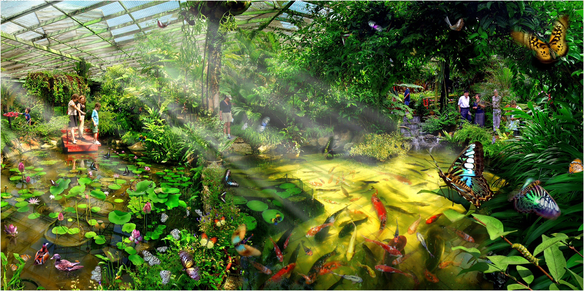 Paradise Of Butterflies by SAMLIM