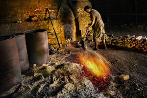 Traditional Charcoal Factory-2 by SAMLIM