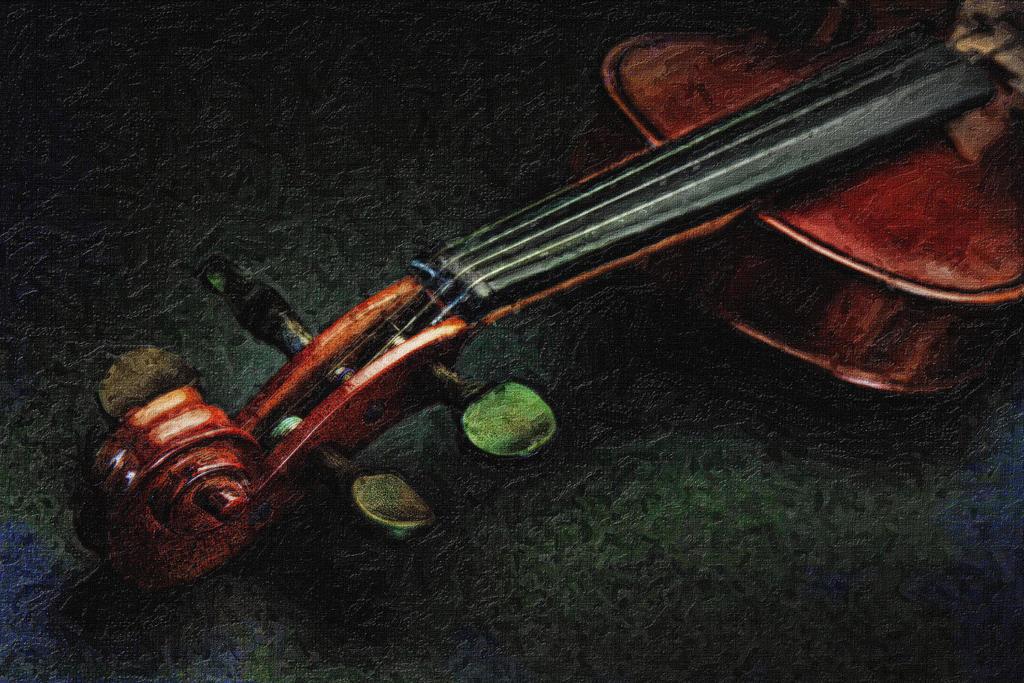 Violin Art by SAMLIM o...