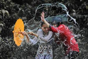 Splashing Fun - 41 by SAMLIM