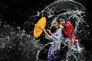 Splashing Fun - 50 by SAMLIM