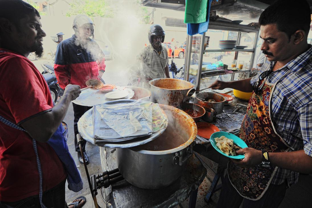 Traditional Street Breakfast - 3 by SAMLIM