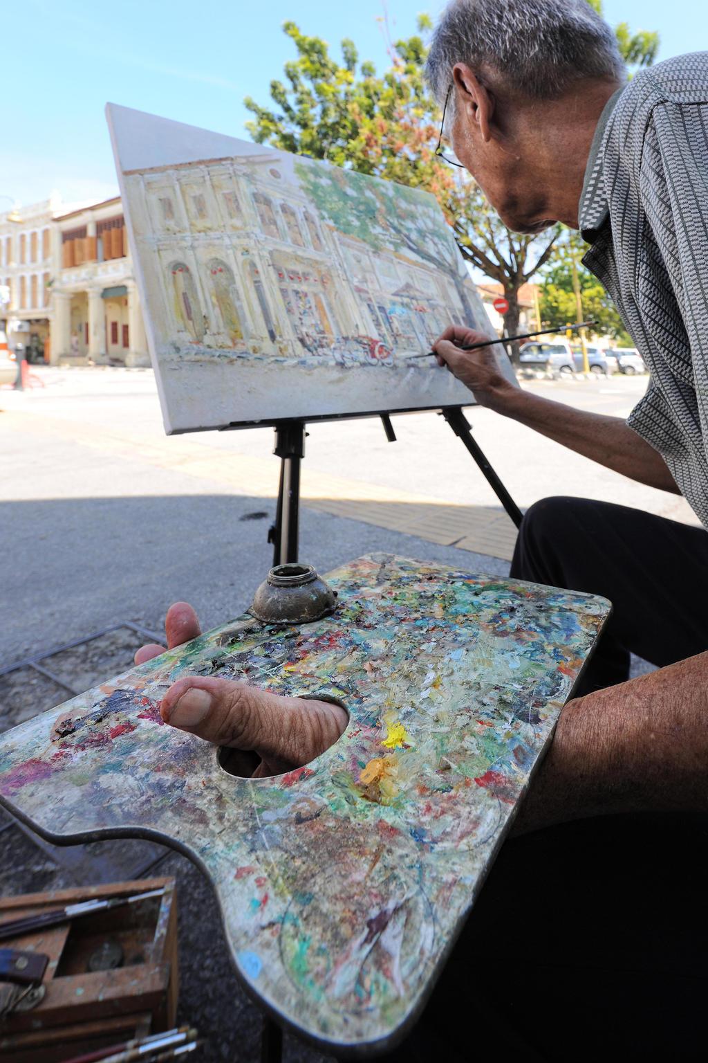 Street Artist - 4 by SAMLIM