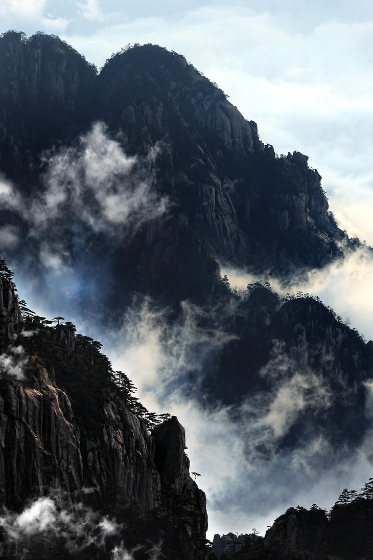 Huang Shan Mountain-27 by SAMLIM