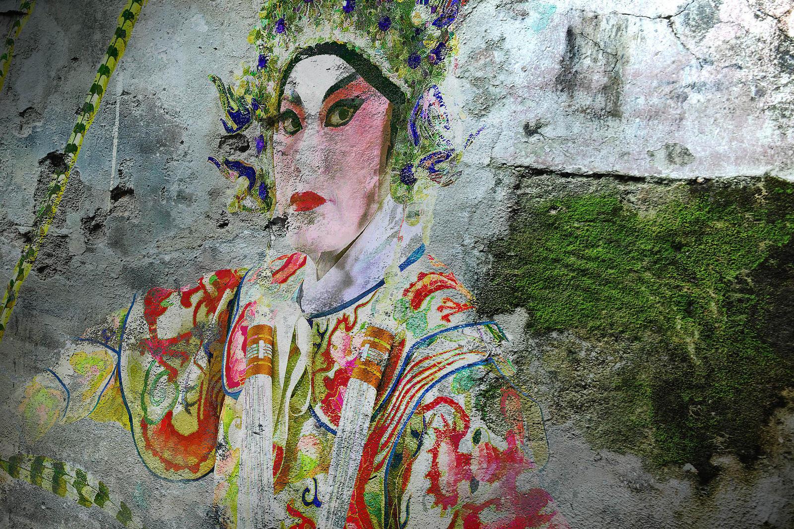 Street Artist  - 2 by SAMLIM