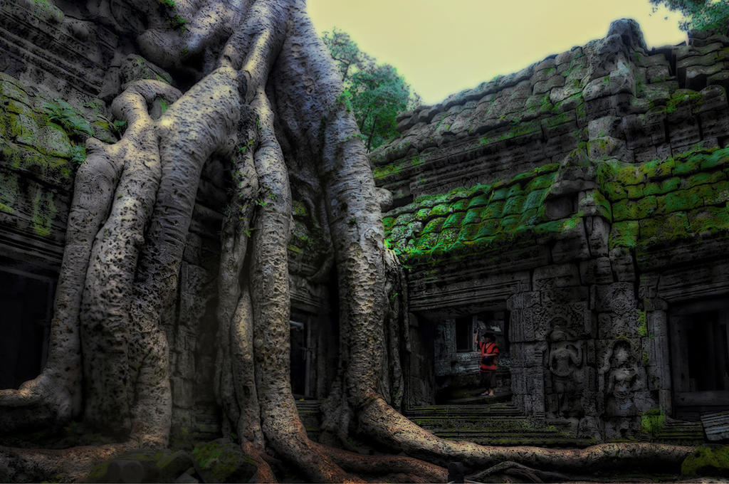 LOST IN TIME TEMPLE by SAMLIM