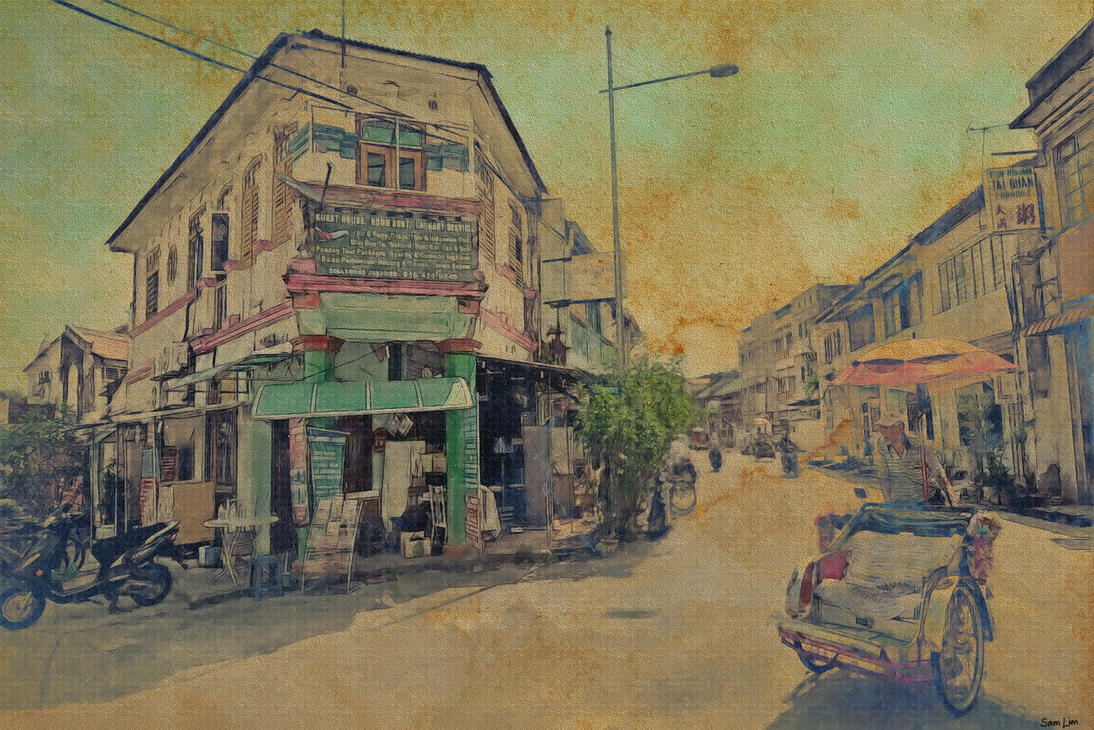 ASIAN STREET by SAMLIM