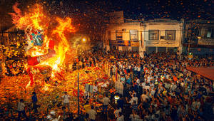 Traditional Hungry Ghost Festival
