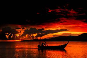 FIRE IN THE SKY by SAMLIM