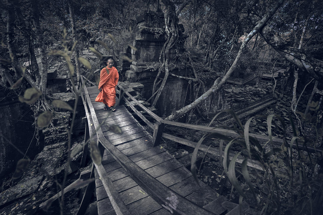 SHADOW THAT FOLLOW OUR PATH OF LIFE by SAMLIM