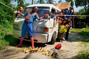 Asian SPIDERMAN....