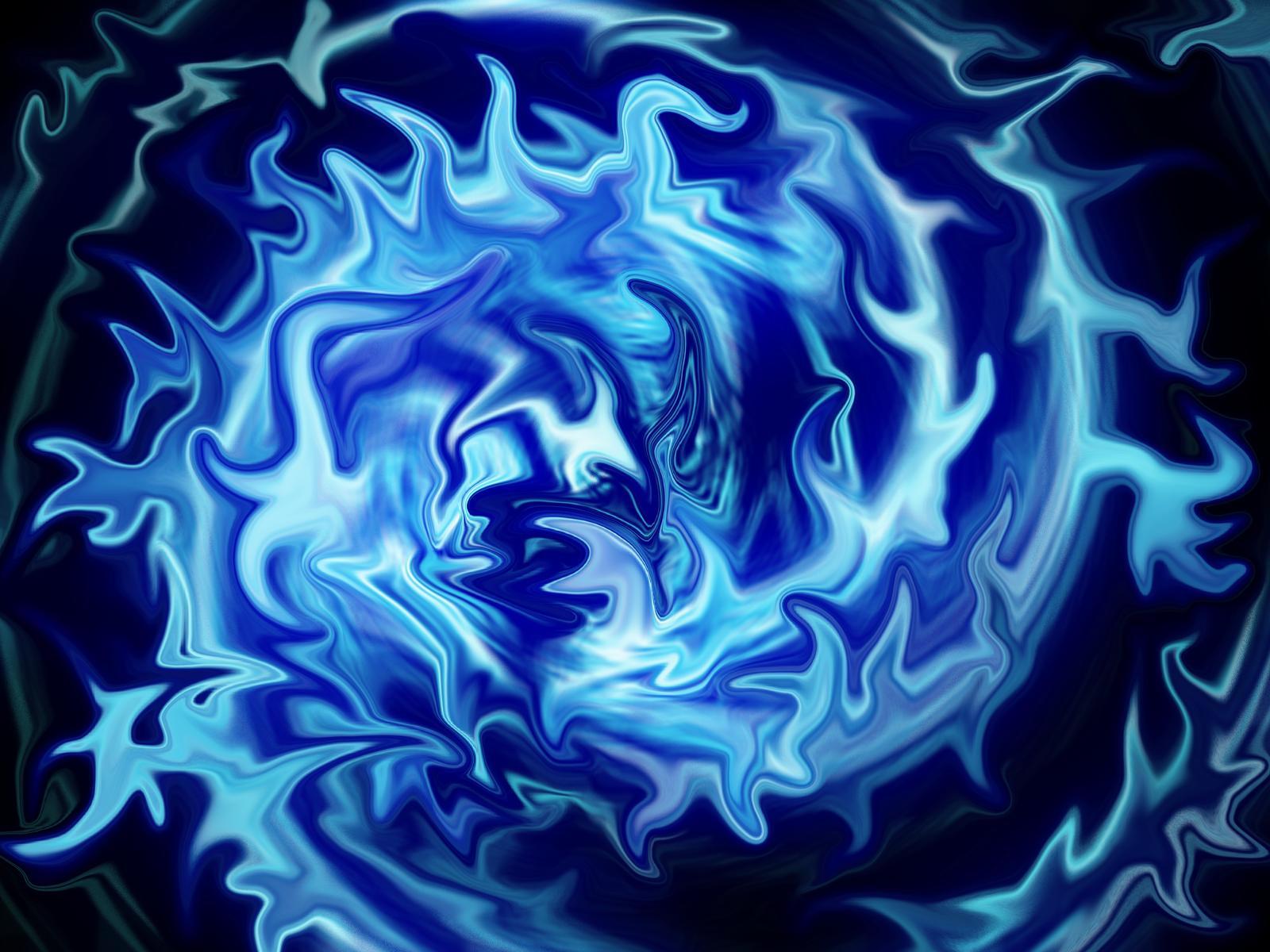 Fire Spiral - Blue by ...