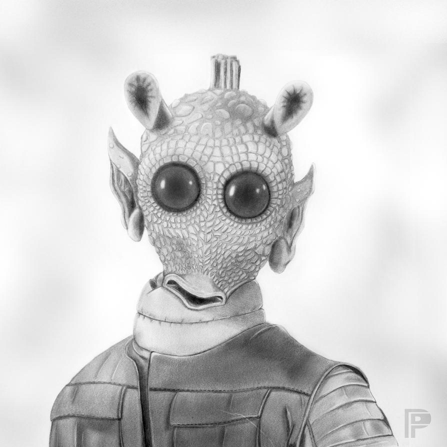 Greedo | Star Wars by PencilForceArt