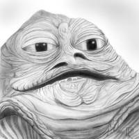 Jabba the Hutt   Star Wars by MikeManuelArt