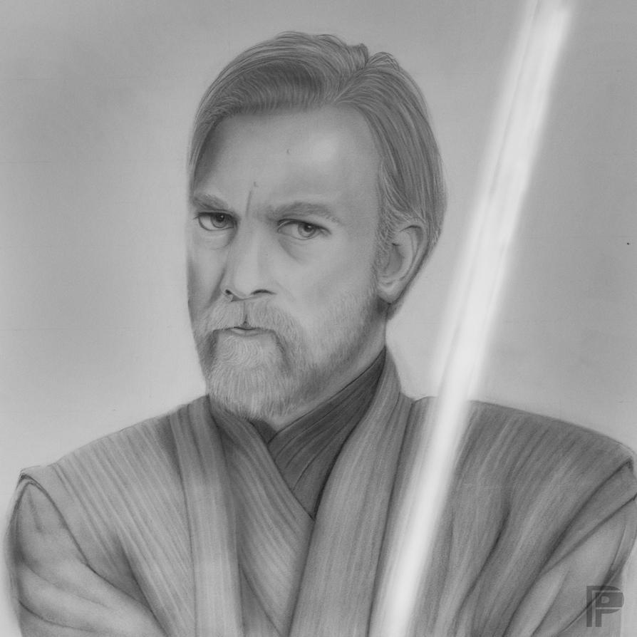 Obi-Wan (Ben) Kenobi | Star Wars by PencilForceArt