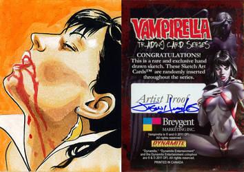 Breygent Vampirella Artist Proof Sketch Cards