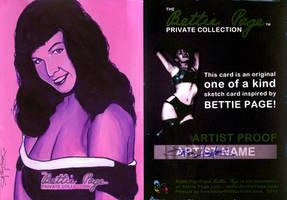 Versicolor Bettie Page