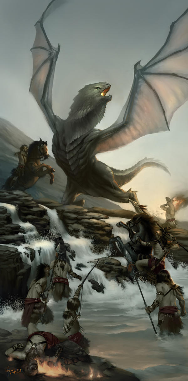 Mark Winters Dragon_by_markwinters