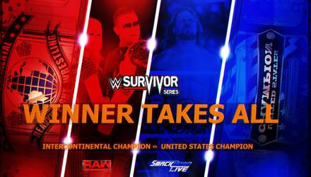 WWE Survivor Series 2017 Custom Match Card